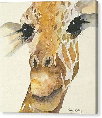 Jeffrey Giraffe Canvas Print