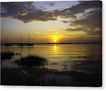 Jekyll Island Sunset Canvas Print