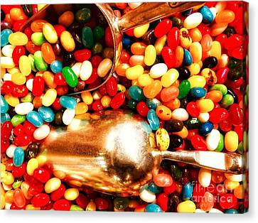 Jelly Beans And More Jelly Beans Canvas Print