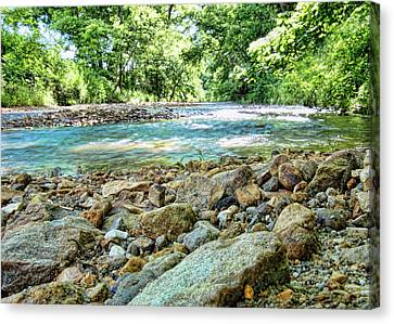 Canvas Print featuring the photograph Jemerson Creek by Cricket Hackmann
