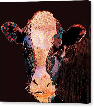 Jemima The Cow Canvas Print