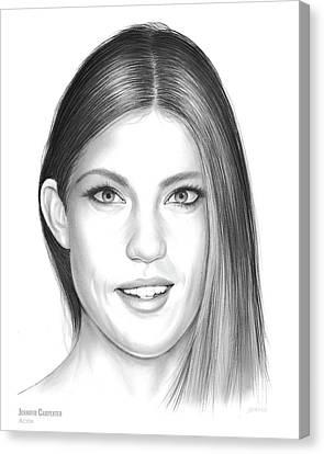 Jennifer Carpenter Canvas Print