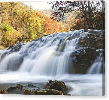 Canvas Print featuring the photograph Jennings Creek 2 by Alan Raasch