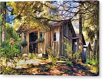 Jens Jacobsen Museum On Washington Island Door County Canvas Print by Christopher Arndt