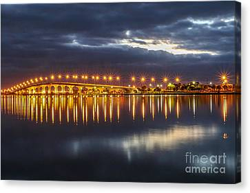 Jensen Beach Causeway #5 Canvas Print by Tom Claud