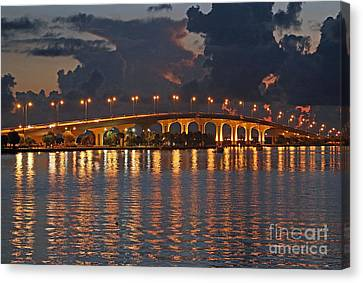 Jensen Beach Causeway Canvas Print by Tom Claud
