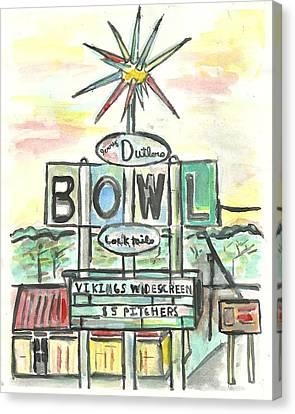 Jerry Dutler's Bowl Canvas Print by Matt Gaudian