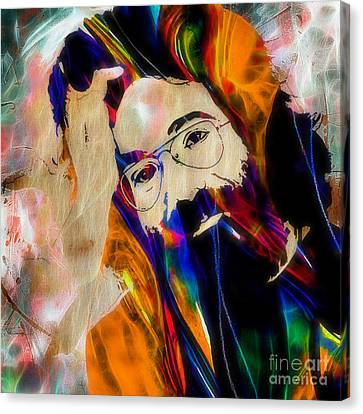 Jerry Garcia Collection Canvas Print