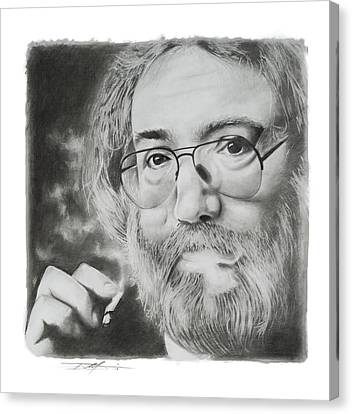 Jerry Garcia Canvas Print by Don Medina