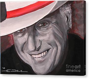 Jerry Jeff Walker Canvas Print by Eric Dee