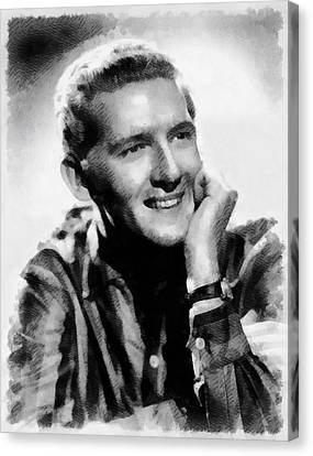Jerry Lee Lewis, Singer Canvas Print by John Springfield