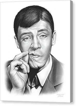 Jerry Lewis Canvas Print