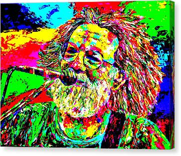 Jerry Canvas Print by Mike OBrien