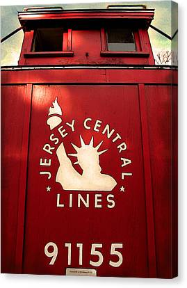 Jersey Central Lines Canvas Print