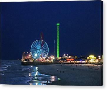 Jersey Shore Canvas Print by Steve Karol