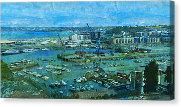 Jersey St Helier Capital  Canvas Print