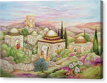 Jerusalem 36x24 Canvas Print by Michoel Muchnik