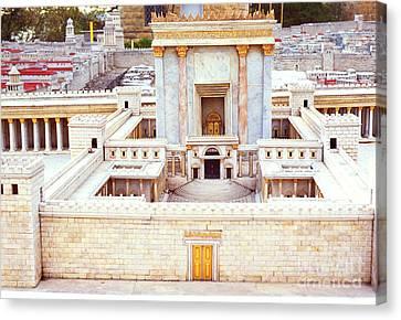 Jerusalem 70 Ad Canvas Print by Thomas R Fletcher