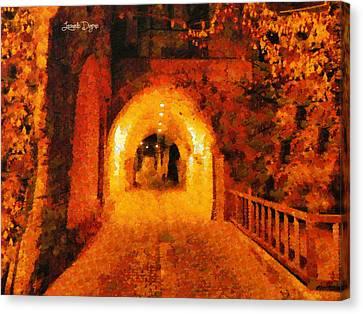 Jerusalem Gate - Da Canvas Print by Leonardo Digenio