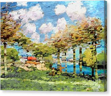 Jesen '15 Canvas Print by Ante Barisic