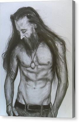 Jesse #4 Canvas Print by Adrienne Martino