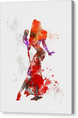 Jessica Rabbit Canvas Print