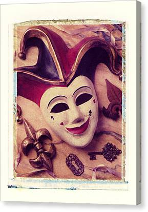 Jester Mask Canvas Print