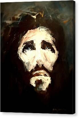 Jesus - 2 Canvas Print by Jun Jamosmos