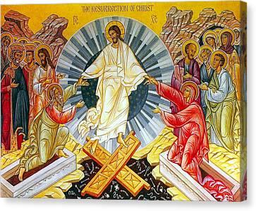 Jesus Bliss Canvas Print
