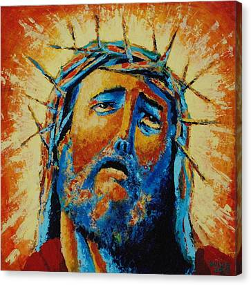 Jesus Christ Canvas Print by Andrew Wilkie