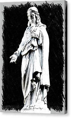 John 14-6 Canvas Print