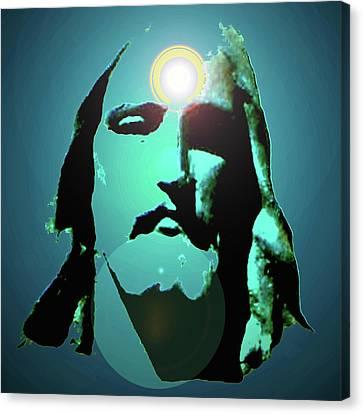 Jesus Christ No. 02 Canvas Print by Ramon Labusch