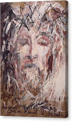 Jesus Christ Canvas Print by Pierre Van Dijk