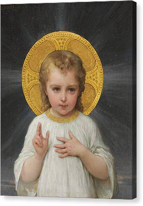 Jesus Canvas Print by Emile Munier