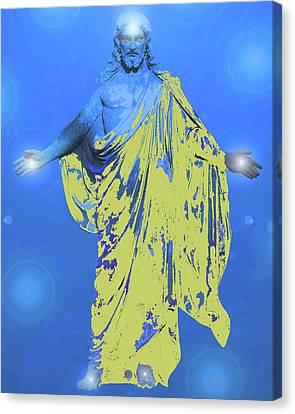 Jesus-energy. No. 11 Canvas Print by Ramon Labusch