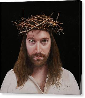 Jesus Canvas Print - Jesus by Guido Borelli