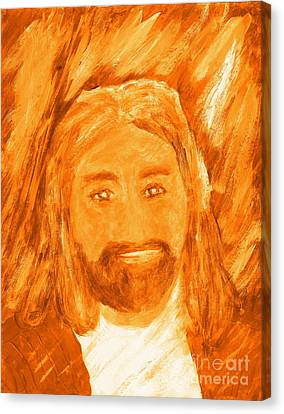 Jesus Is The Christ The Holy Messiah 3 Canvas Print by Richard W Linford