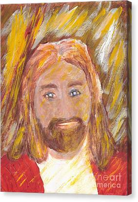 Jesus Is The Christ The Holy Messiah 5 Canvas Print by Richard W Linford