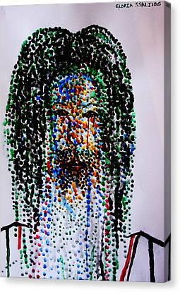 Jesus Lion Of Judah Canvas Print by Gloria Ssali