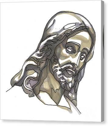 Jesus No 1 Canvas Print by Edward Ruth