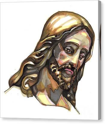 Jesus No 3 Canvas Print by Edward Ruth