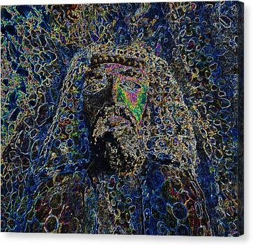 Jesus Of Nazareth Canvas Print by David Lee Thompson
