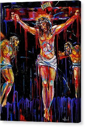 Jesus Of Nazareth Canvas Print by Debra Hurd