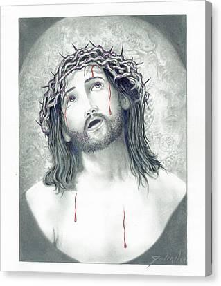 Jesus Of Nazareth Canvas Print by Julian  B