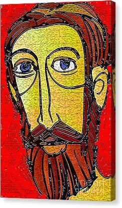 Jesus Of Nazareth Canvas Print by Mimo Krouzian