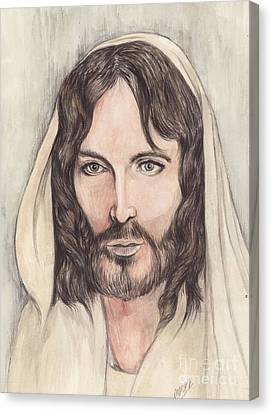 Jesus Of Nazereth Canvas Print by Morgan Fitzsimons