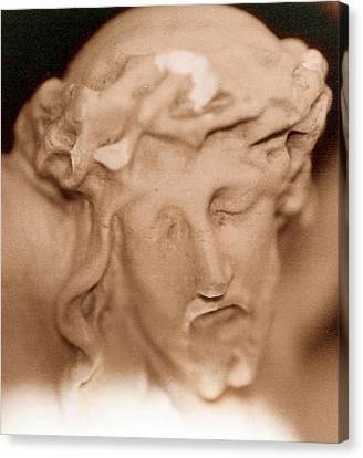 Jesus Canvas Print by Paul  Trunk
