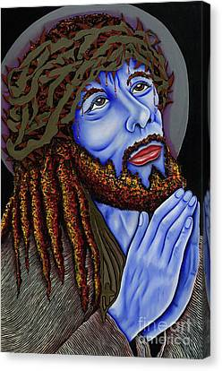 Jesus Peace Canvas Print by Nannette Harris