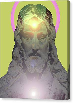 Jesus Portrait No. 01 Canvas Print by Ramon Labusch