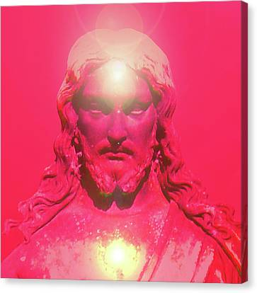 Jesus-portrait No. 05 Canvas Print by Ramon Labusch